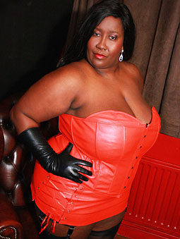 Handjob with leather gloves very hot 8